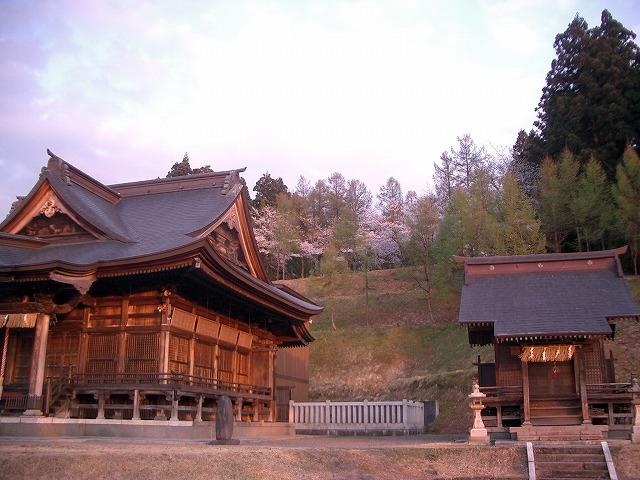 諏訪神社裏山